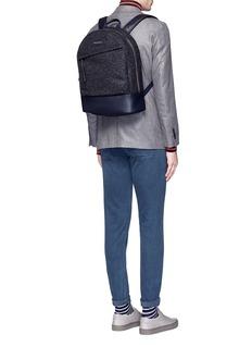 Want Les Essentiels De La Vie'Kastrup' mélange wool backpack