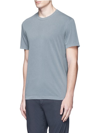Front View - Click To Enlarge - James Perse - Crew neck cotton T-shirt