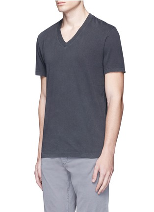Front View - Click To Enlarge - James Perse - V-neck cotton T-shirt