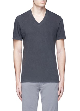 Main View - Click To Enlarge - James Perse - V-neck cotton T-shirt