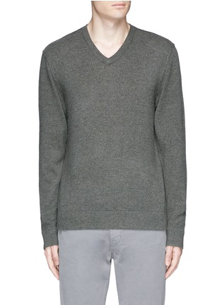 Main View - Click To Enlarge - James Perse - V-neck cashmere sweater