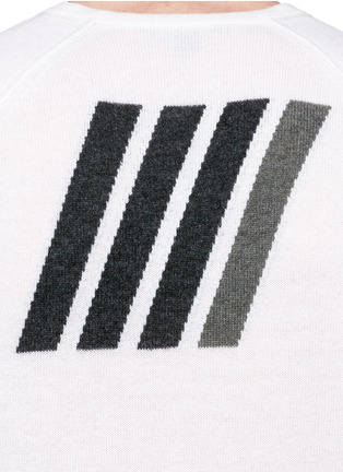 Detail View - Click To Enlarge - James Perse - Graphic intarsia cashmere sweater