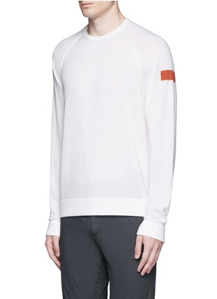 Front View - Click To Enlarge - James Perse - Graphic intarsia cashmere sweater