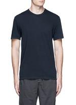 Crew neck cotton jersey T-shirt