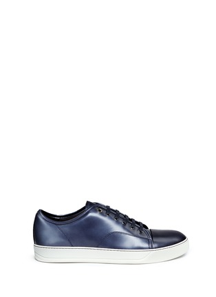 Main View - Click To Enlarge - Lanvin - Patent leather sneakers