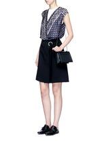 'Soleil' mini chain leather shoulder bag