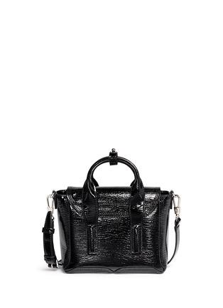 Back View - Click To Enlarge - 3.1 Phillip Lim - 'Pashli' mini patent leather satchel