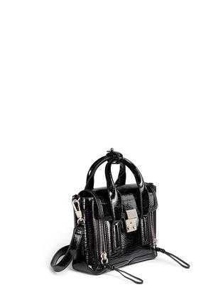 Front View - Click To Enlarge - 3.1 Phillip Lim - 'Pashli' mini patent leather satchel