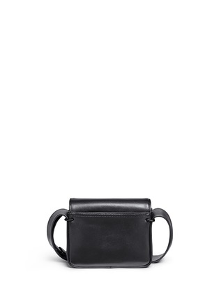Back View - Click To Enlarge - 3.1 Phillip Lim - 'Alix' mini paperclip flap leather shoulder bag