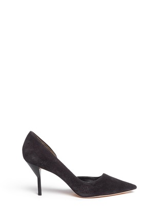 Main View - Click To Enlarge - 3.1 Phillip Lim - 'Martini' cutout side suede pumps