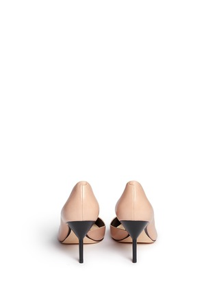 3.1 Phillip Lim - 'Martini' cutout side suede pumps