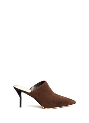 Main View - Click To Enlarge - 3.1 Phillip Lim - 'Martini' suede mules