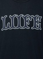 'LIIFE' cotton T-shirt