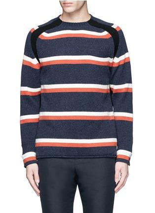 首图 - 点击放大 - SACAI - 拼色羊毛针织衫