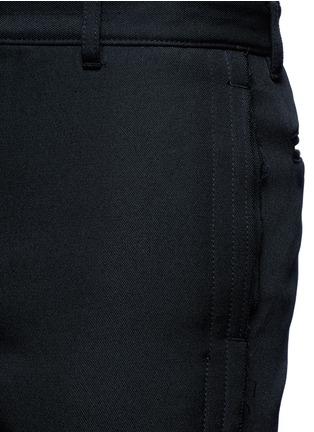 细节 - 点击放大 - SACAI - 单色不修边长裤