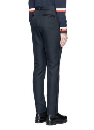 背面 - 点击放大 - SACAI - 单色不修边长裤