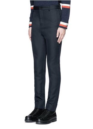 正面 -点击放大 - SACAI - 单色不修边长裤