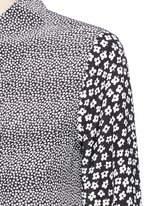 'Archive Luis' floral print silk shirt
