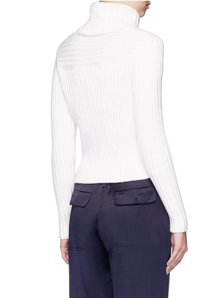 Back View - Click To Enlarge - HELEN LEE - Bad Bunny' intarsia turtleneck sweater