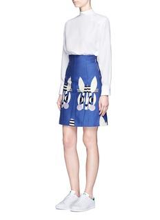 HELEN LEE'Bad Bunny' jacquard high waist skirt