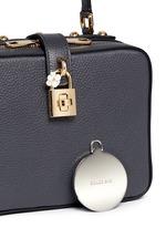 'Dolce Soft' drummed calfskin leather bag