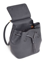 'Miss Sicily' mini grainy leather backpack
