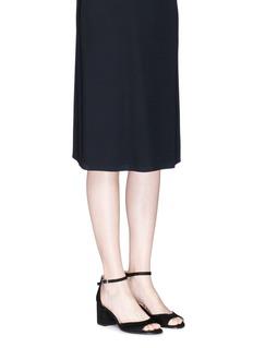 Sam Edelman 'Susie' block heel ankle strap suede sandals