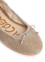'Felicia' suede ballet flats