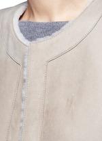 'Skea F' reversible lambskin shearling gilet