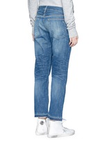 'X Boyfriend' slim fit straight leg jeans