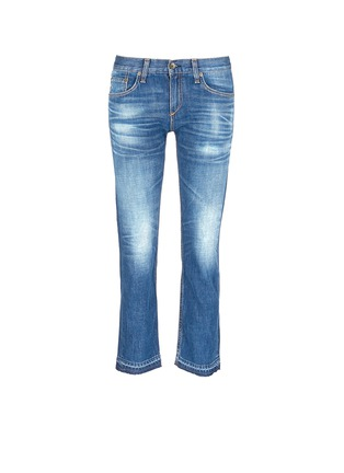 Main View - Click To Enlarge - rag & bone/JEAN - 'X Boyfriend' slim fit straight leg jeans