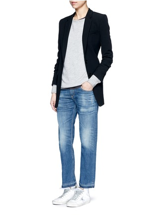 Figure View - Click To Enlarge - rag & bone/JEAN - 'X Boyfriend' slim fit straight leg jeans