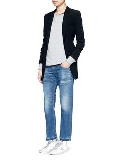 rag & bone/JEAN'X Boyfriend' slim fit straight leg jeans