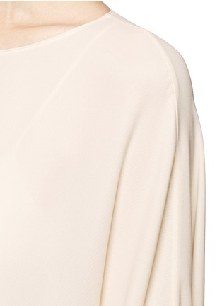 Detail View - Click To Enlarge - The Row - 'Likita' crepe maxi kaftan dress