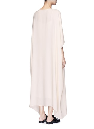 Back View - Click To Enlarge - The Row - 'Likita' crepe maxi kaftan dress