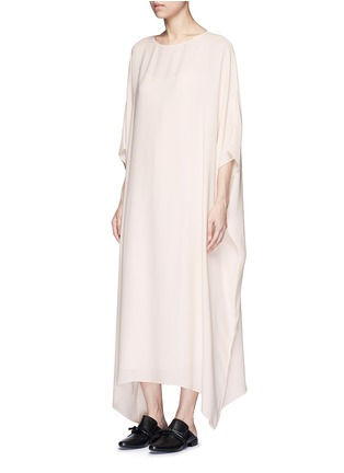 Figure View - Click To Enlarge - The Row - 'Likita' crepe maxi kaftan dress