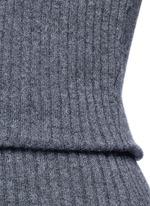 'Arra' rib knit turtleneck dress