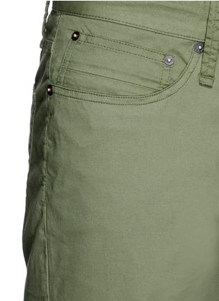 Detail View - Click To Enlarge - Denham - 'Razor' cotton shorts