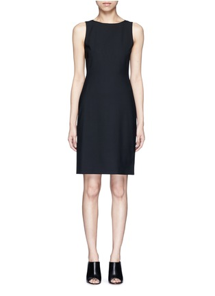 Main View - Click To Enlarge - Theory - 'Betty' Italian wool sheath dress