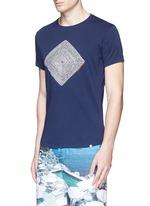 'OB-T Aboriginal' geometric print T-shirt