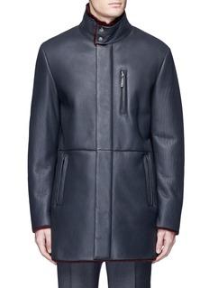 Armani CollezioniShearling coat
