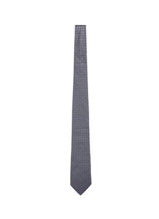 Main View - Click To Enlarge - Armani Collezioni - Arrowhead jacquard tie