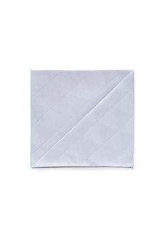 Armani CollezioniDiamond jacquard pocket square