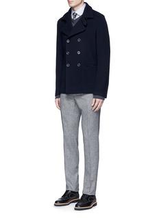 Armani CollezioniSlim fit check cotton shirt