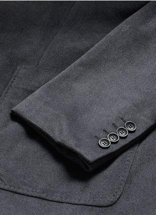 - Armani Collezioni - Notched lapel velvet blazer