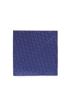 Armani CollezioniDiamond jacquard silk pocket square