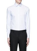 'Modern' stripe cotton shirt