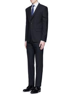 Armani Collezioni'Modern' stripe cotton shirt