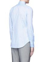 Slim fit stretch poplin shirt