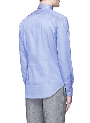 Back View - Click To Enlarge - Armani Collezioni - Slim fit stripe cotton shirt